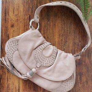 Pastel Pink Soho Shoulder Bag